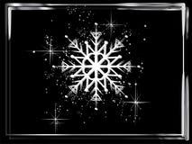 Снежинка стоковое фото rf