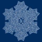 снежинка Стоковые Фото