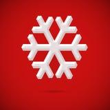 Снежинка Стоковые Изображения