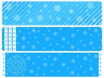 снежинка baner предпосылок иллюстрация вектора