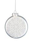 снежинка bauble Стоковые Изображения