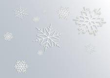 снежинка 3D Стоковые Изображения