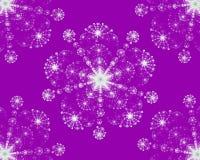Снежинки абстрактной фрактали симметричные красочные бесплатная иллюстрация