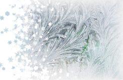 снежинки заморозка Стоковые Изображения RF