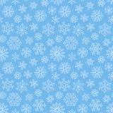 снежинки картины безшовные Фон повторения рождества снежностей иллюстрация вектора