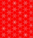 снежинки картины безшовные Стоковое Изображение