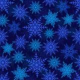 снежинки картины безшовные Стоковое Изображение RF