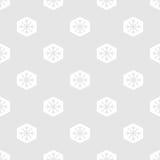 снежинки картины безшовные Стоковые Фотографии RF