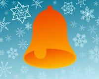 снежинки колокола Стоковые Изображения RF