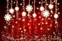 снежинки красного цвета предпосылки бесплатная иллюстрация