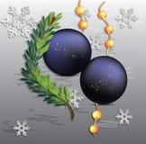 снежинки предпосылки изолированные рождеством белые стоковое изображение
