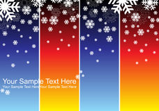 снежинки предпосылки установленные Бесплатная Иллюстрация