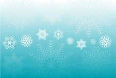 снежинки предпосылки Стоковые Изображения RF