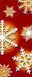 снежинки предпосылки Стоковые Фото