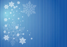 снежинки предпосылки Стоковая Фотография