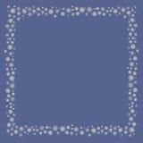 Снежинки рамки Стоковое Изображение RF