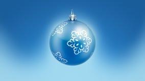 Снежинки шарика с Рождеством Христовым рождественской елки иллюстрация штока