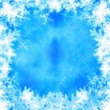 Снежинки Стоковая Фотография