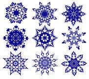 снежинки Стоковые Изображения RF