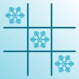 снежинки gomoku Стоковые Фотографии RF