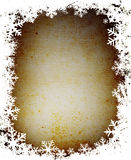 снежинки grunge рамки Стоковые Фото