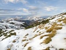 снежная долина Стоковое фото RF
