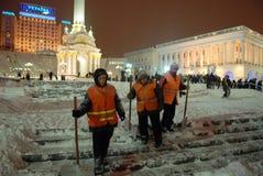 снежности kiev Стоковая Фотография RF