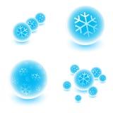 снежные сферы Стоковое фото RF