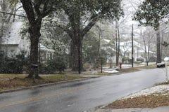 снежный день Стоковое Изображение