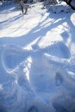 снежок ангела Стоковая Фотография RF