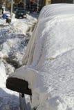 снежок вниз Стоковая Фотография