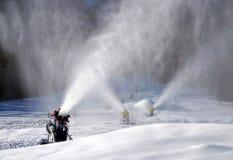 снежок воздуходувок стоковое изображение