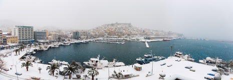 Снежок в городе Стоковое фото RF
