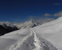 Снежок в Италии Стоковые Изображения RF