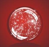 снежок глобуса рождества лоснистый Стоковое Фото