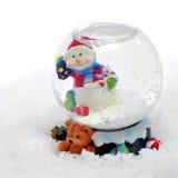 снежок глобуса рождества Стоковые Фотографии RF