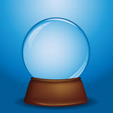 снежок глобуса иллюстрация штока