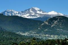 снежок горы крышки Стоковое фото RF