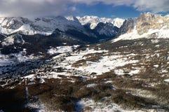 снежок горы ландшафта Стоковая Фотография RF