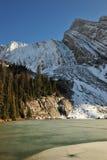 снежок горы озера Стоковое Изображение RF