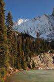 снежок горы озера Стоковые Фотографии RF