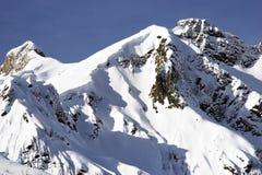 снежок гор Стоковые Фотографии RF