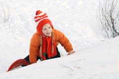 снежок девушки Стоковое Изображение RF