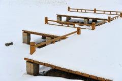 снежок загородки Стоковые Фотографии RF