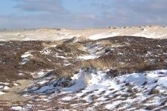 снежок заплат дюн Стоковые Фото