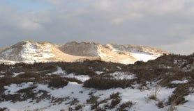 снежок заплат дюн Стоковое фото RF