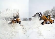 снежок землекопа Стоковая Фотография RF