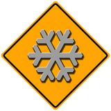 снежок знака Стоковые Фото