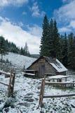снежок кабины вниз Стоковые Фото