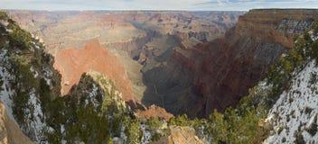 снежок каньона грандиозный Стоковое Фото